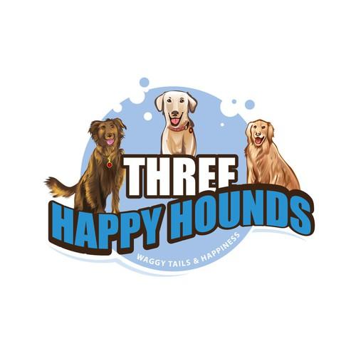logo for a dog loving company