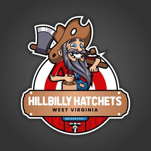 Playful Hillbilly Mascot Design