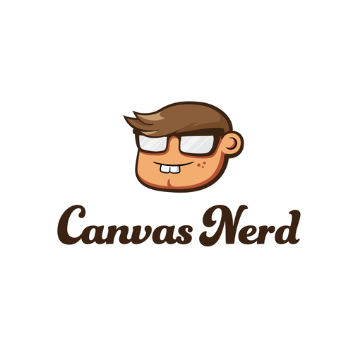 logo for Canvas Nerd