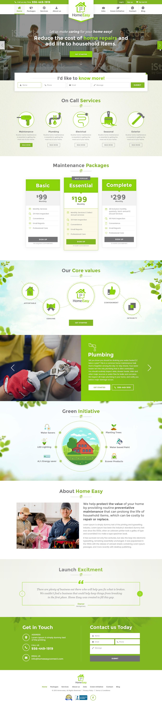 Home Easy Website Design