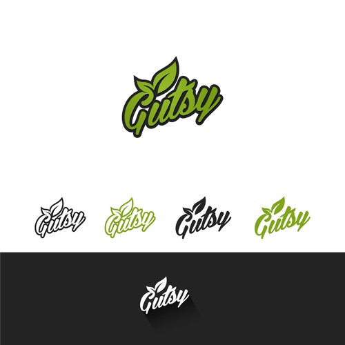 Create a logo for Gutsy Ferments