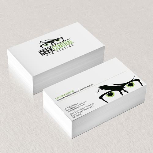 We've Got The Logo - Now Design Some Uber-Cool Business Cards!
