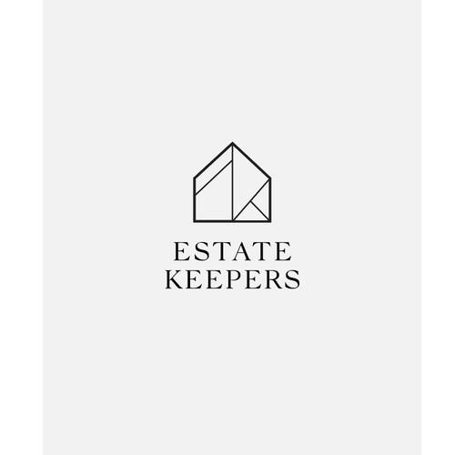 Logo and website design for Estate Keepers