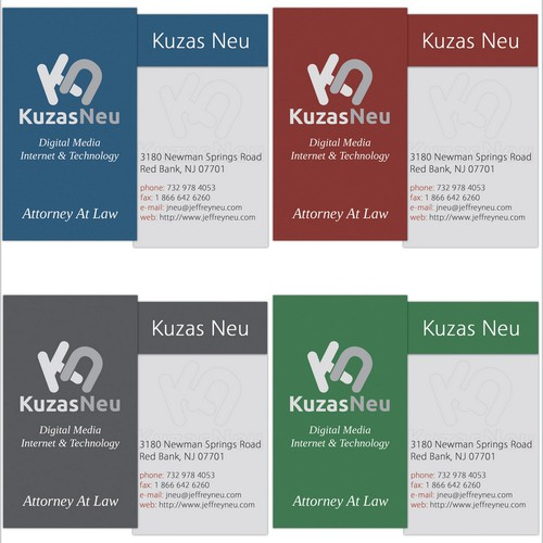Logo/Business Card Design - Legal