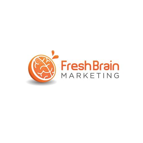 Fresh Brain Marketing Logo