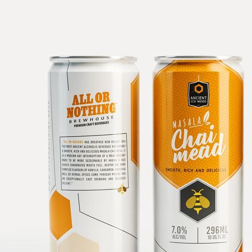 Packaging design For Honey Mead