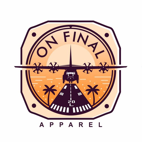 Logo for an apparel company aimed at modern military aviators