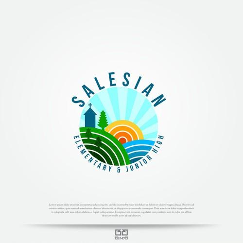 Logo concept for school.