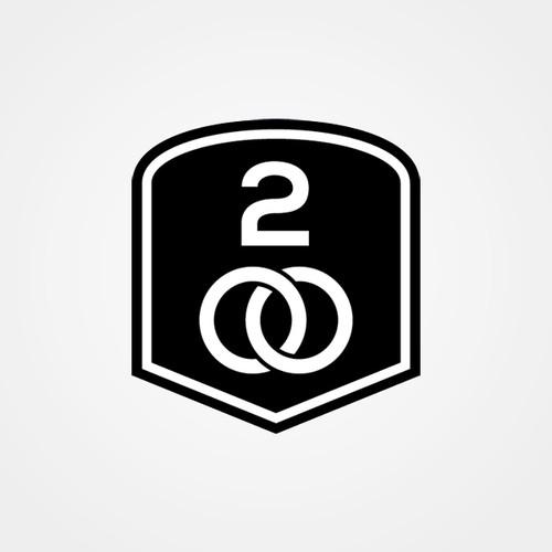 Cycling logo emblem for clothing