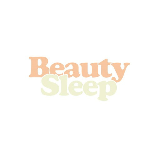 Playful logo for upcoming skincare / bed linens brand