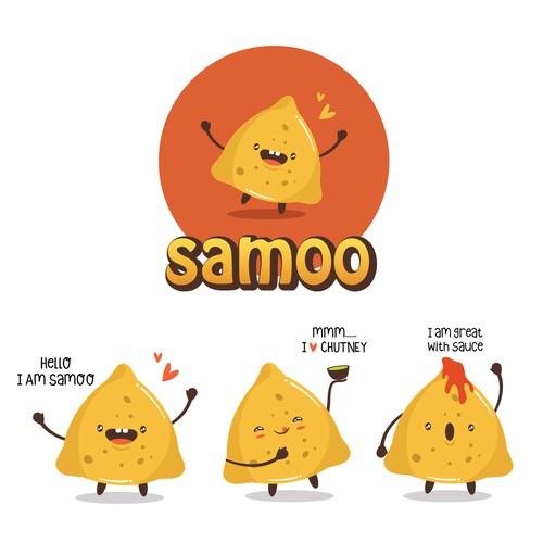 Samosa MASCOT