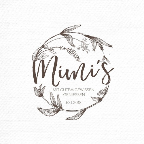 logo / CI for Mimi's: Swiss delights to be indulged with a good conscience.