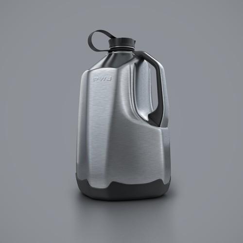 steel jug