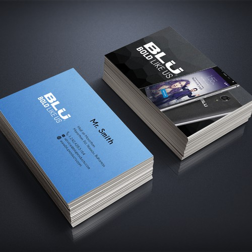 Business Card for a phone Company