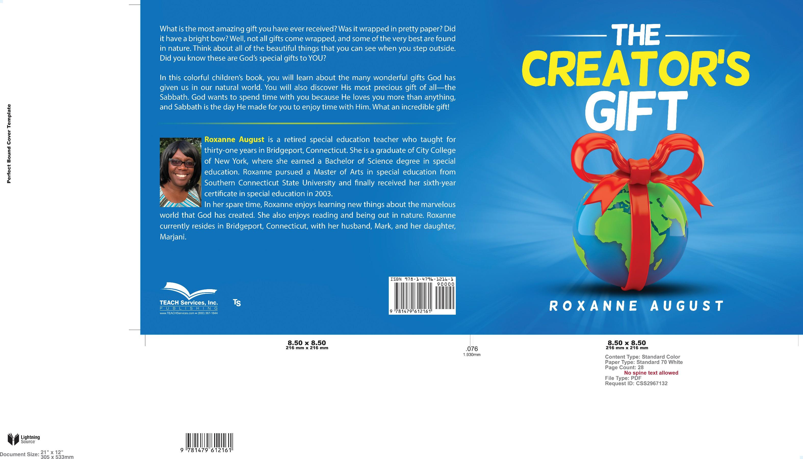 """""""The Creator's Gift"""" - Children's Book Cover Design"""