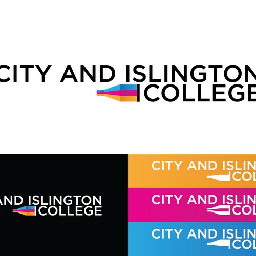 Create a new logo for London's leading college