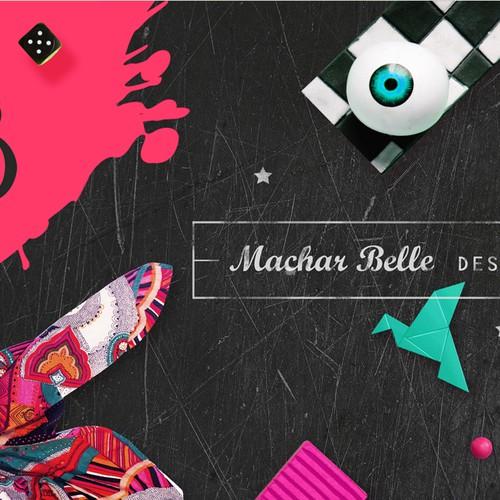 Facebook cover for designer