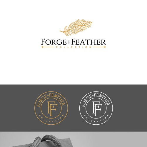 Help me WOW women with Forge + Feather Collection's original logo