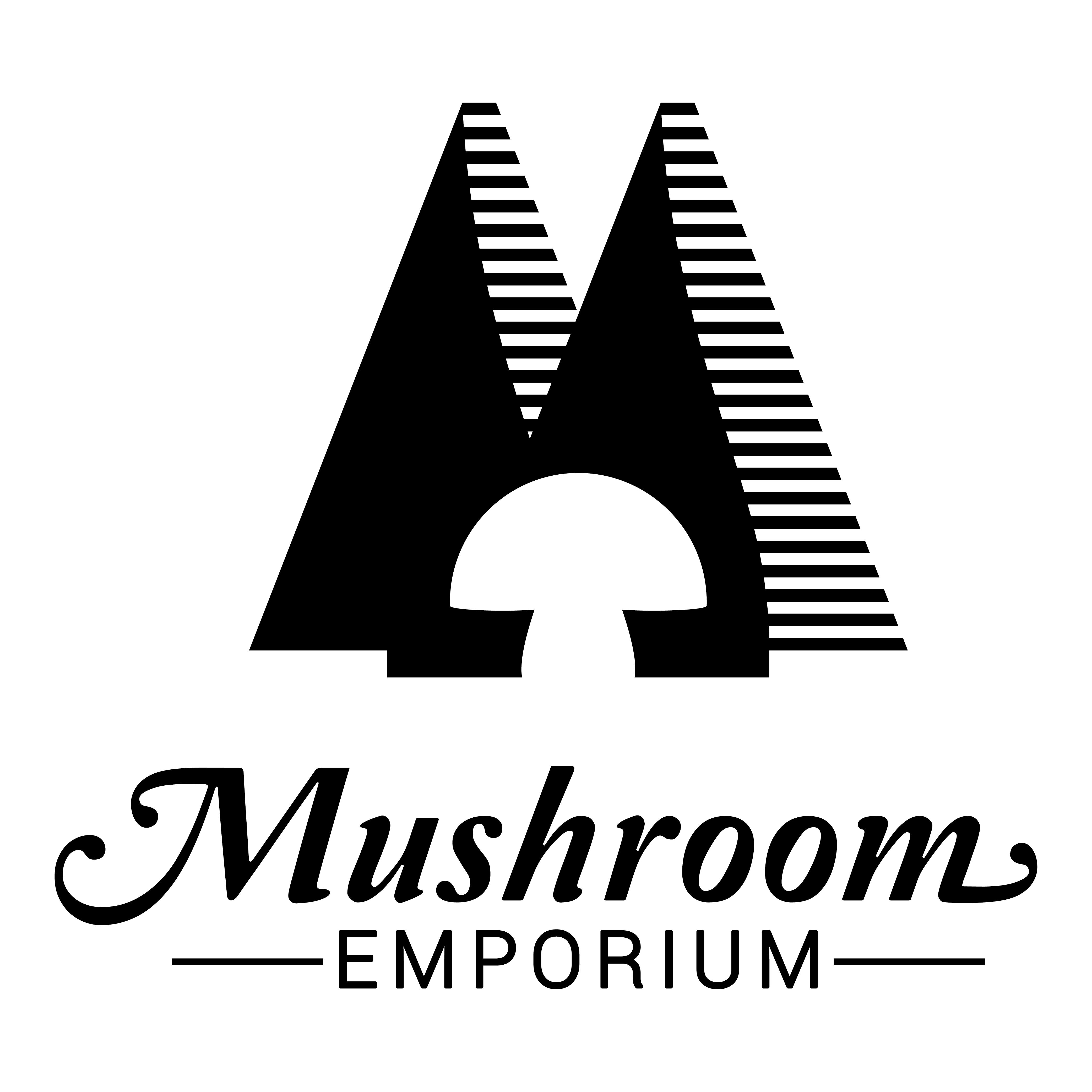 Create a Logo and Website for our new business 'Mushroom Emporium'