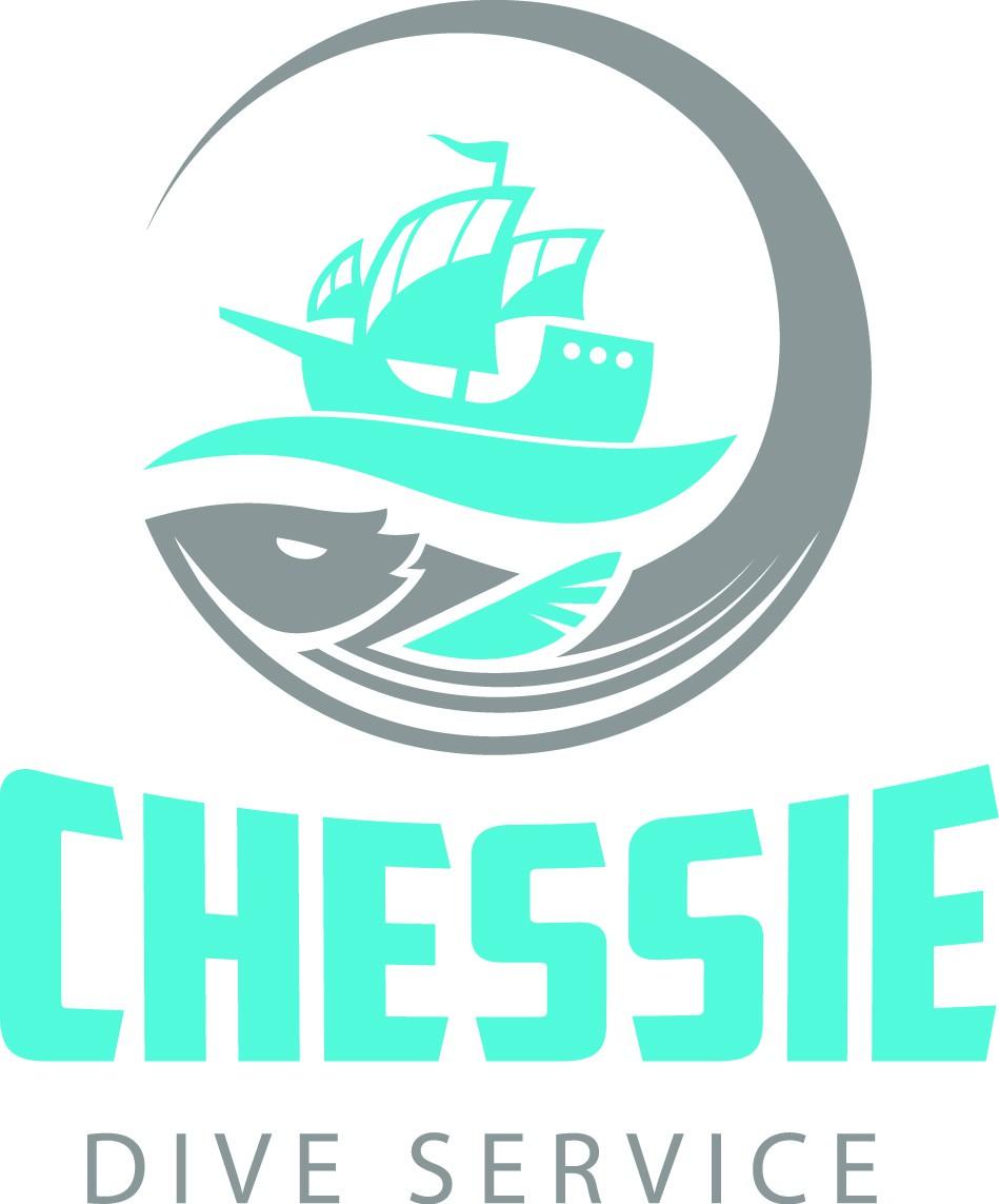 Sea Monster Logo for Dive Service
