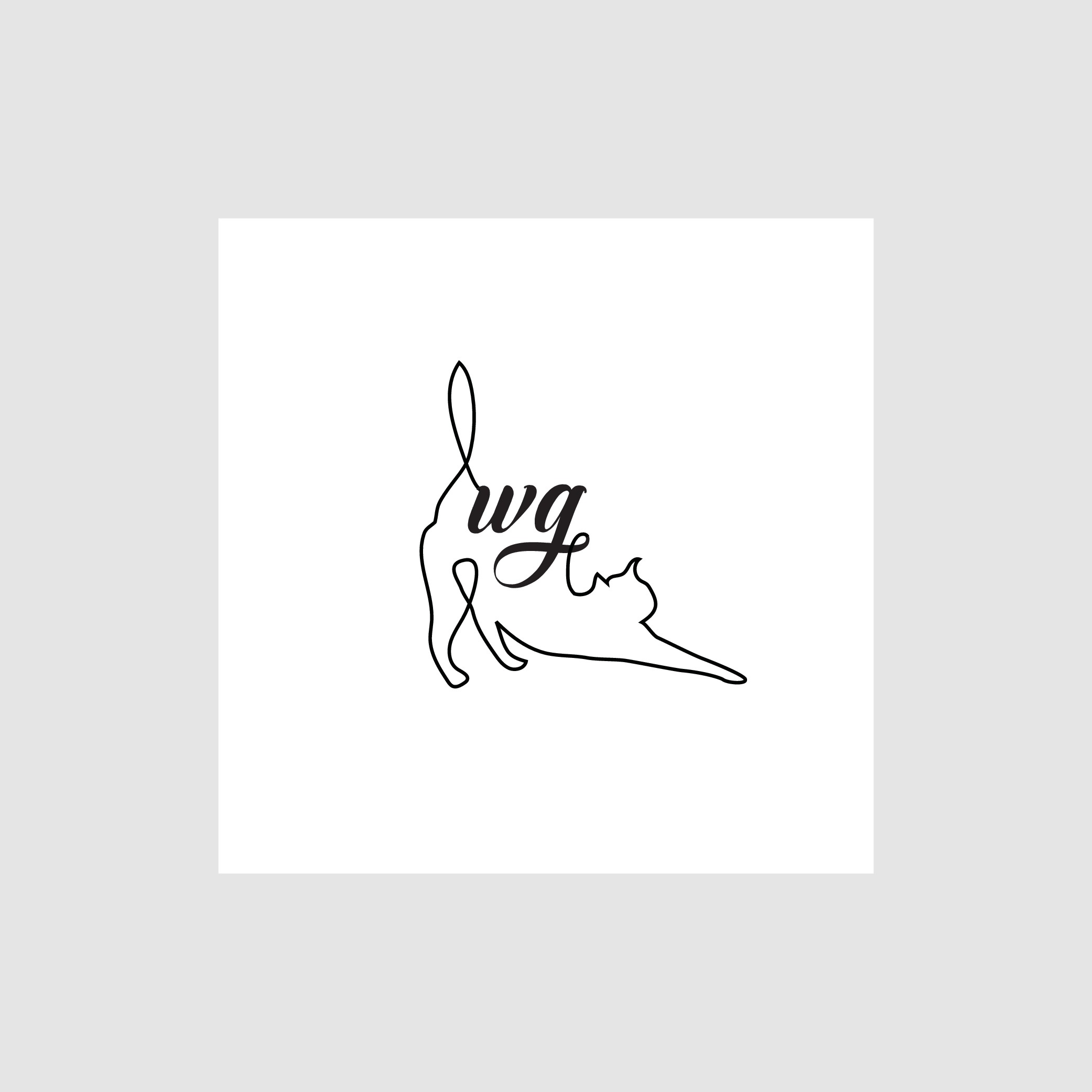 Creative glass artist seeks expressive logo