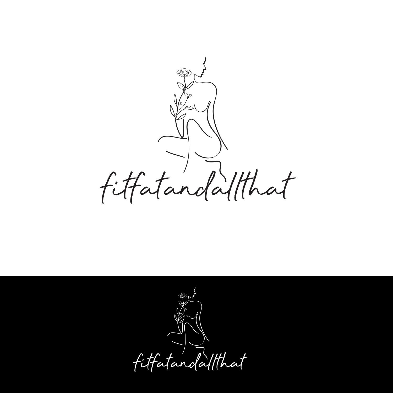 Body Positive influencer needs a feminine logo!