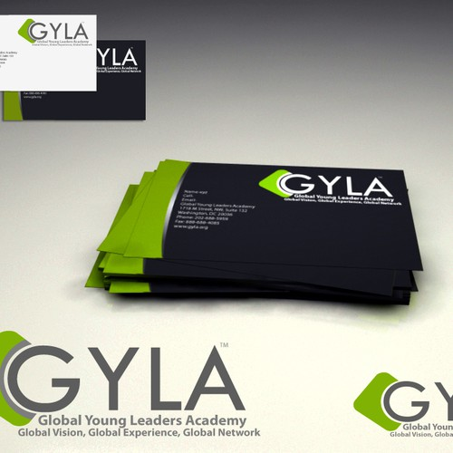 Global Young Leaders Academy needs a new logo and business card