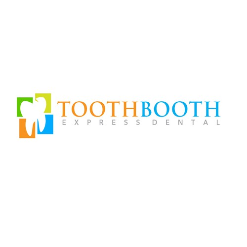 create a catchy and trendy dental logo