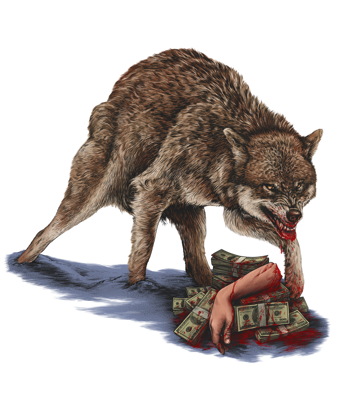Keep Your Wolves Fed/ Surrounded By Wolves