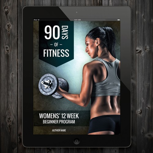 women's fitness magazine/eBook cover