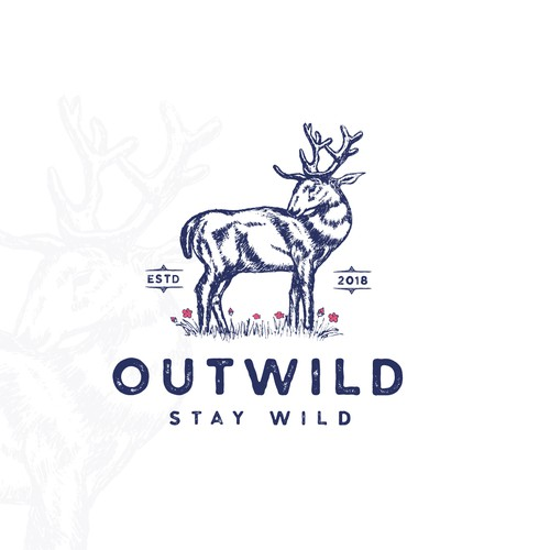 Environmental logo concept for Outwild