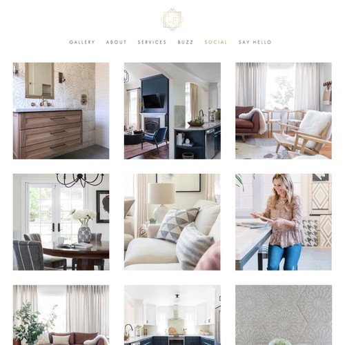 Website for Interior Design