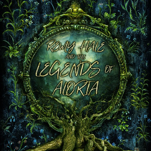 Book cover design - Remy hale and the legends of Aloria by Juniper Bibblesnap
