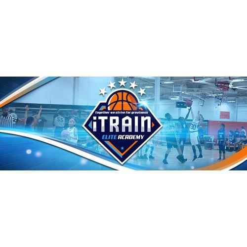iTrain Facebook banner design