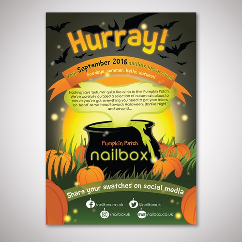 Nailbox September Illustration