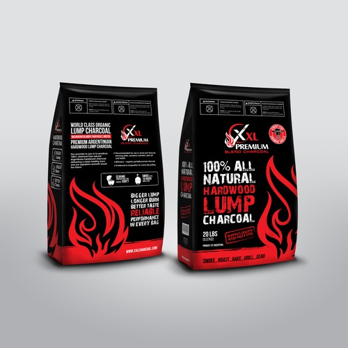 Unique Charcoal Package