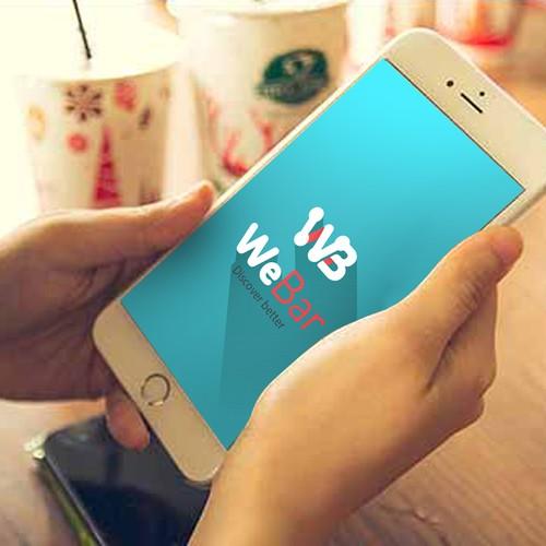 WeBar Logo Design