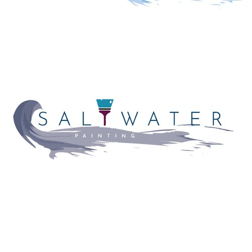 Artistic and Modern Logo Design for Saltwater