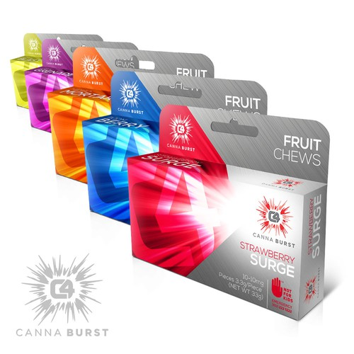 C4 Canna Burst Packaging