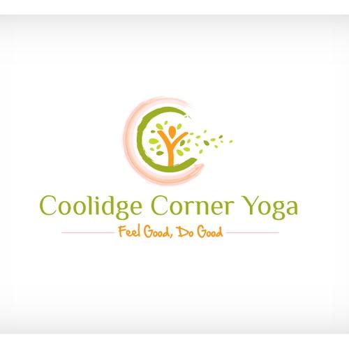 Create the next logo for Coolidge Corner Yoga