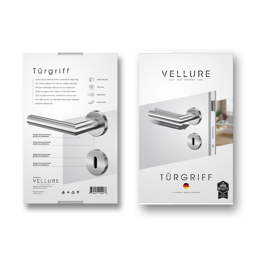 VELLURE Door Handles Box