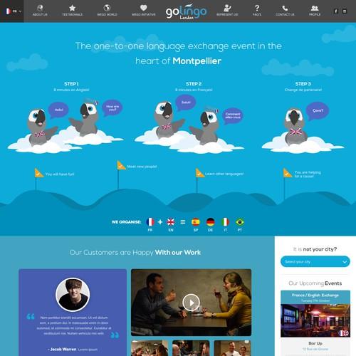 GoLingo Website