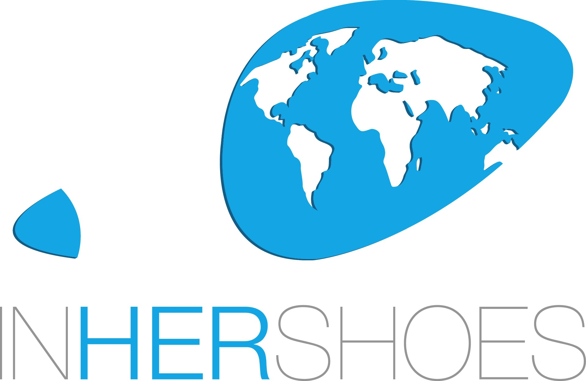 Travel show for women - logo and website - IN HER SHOES!