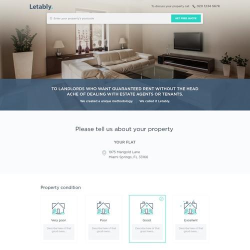 Real estate website like rent.