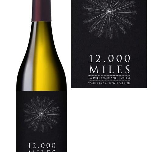 Update or complete rethink of 12,000 Miles wine label