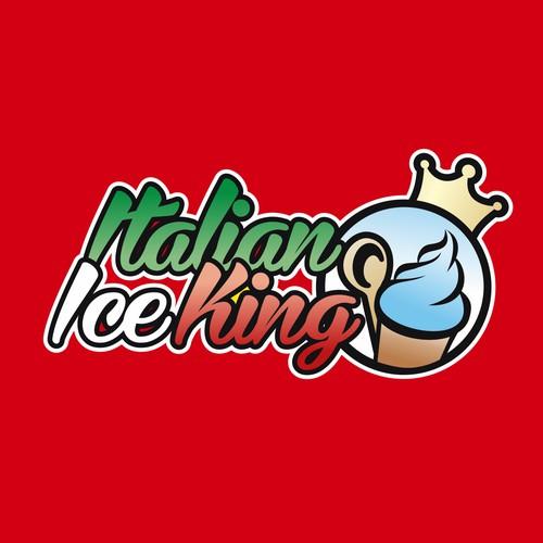 Create the next logo for Italian Ice King