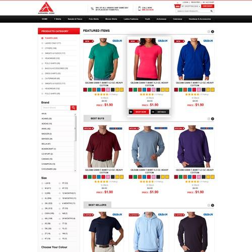 E-commerce Clothing