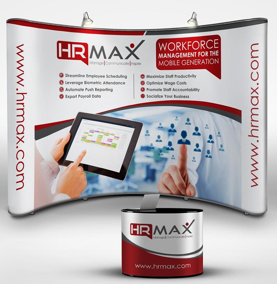 HRMAX TRADE SHOW BOOTH DESIGN