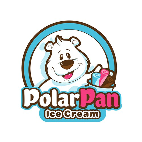 Polar Pan Ice Cream Rolls