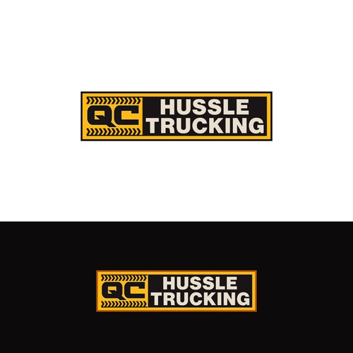 Logo for dump trucking company